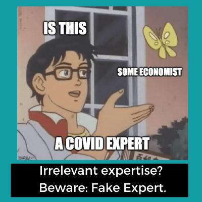 Fake Expert Example: The Irrelevant Expert